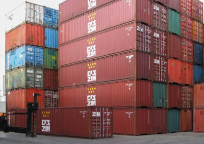 40ft Used Container Stack