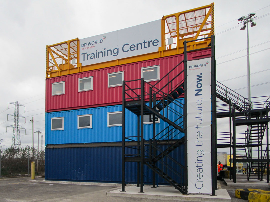 Shipping Container Conversion into Training Centre