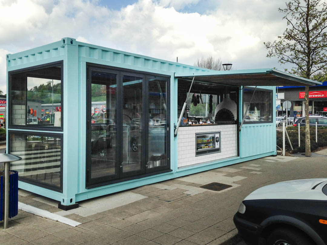 Container Conversion into Street Bar