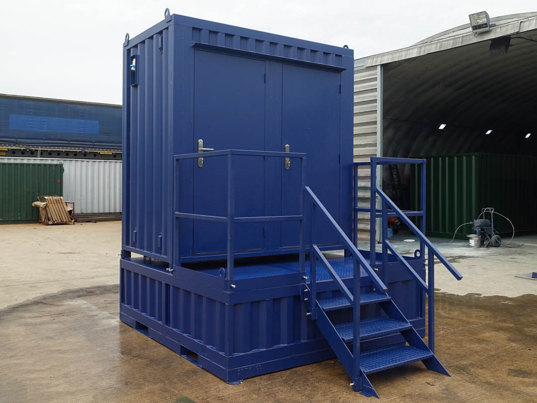 Shipping Container Toilet Cabin
