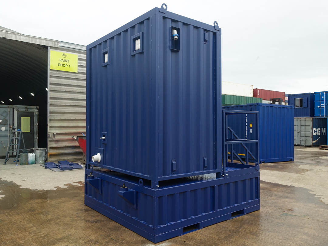 Shipping Container Toilet-2