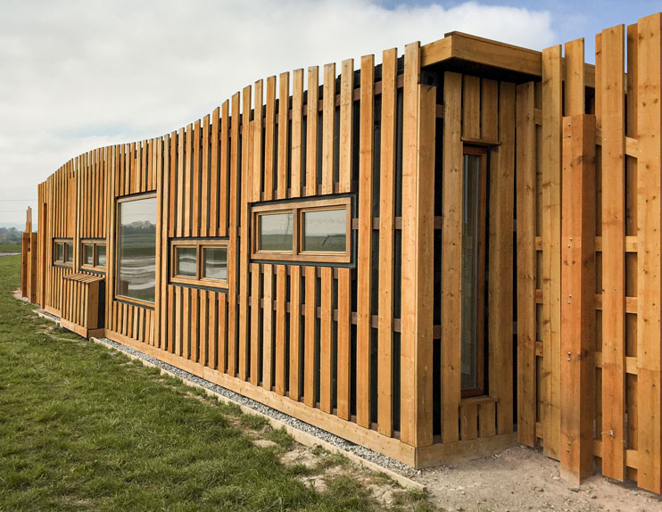 Wood Clad Container Conversion