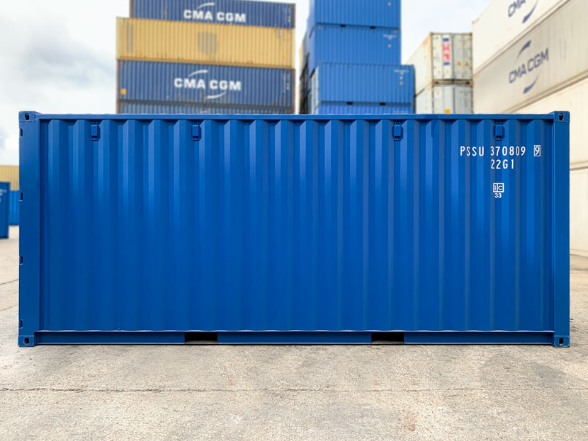 20ft new blue container