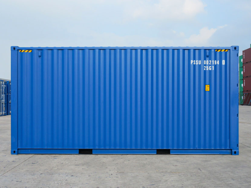20ft High Cube Container Blue