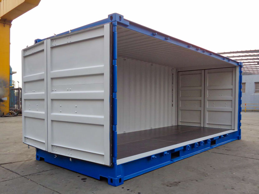 Open Side Shipping Container for Sale