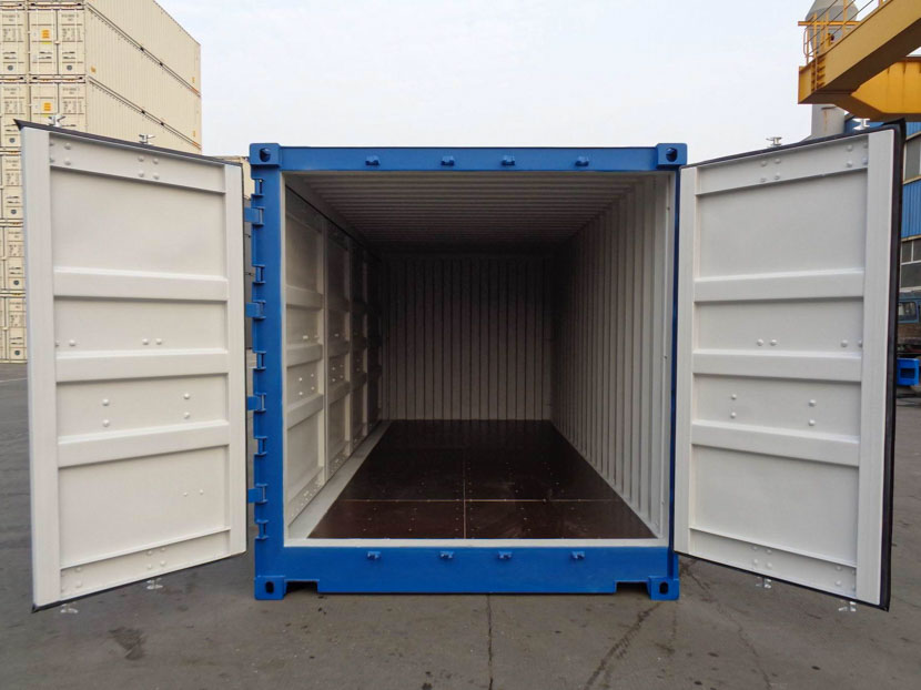 20ft Shipping Container Open Side