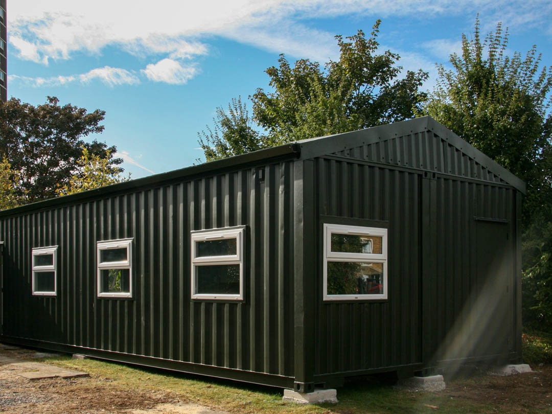 Container Conversion Redbridge School