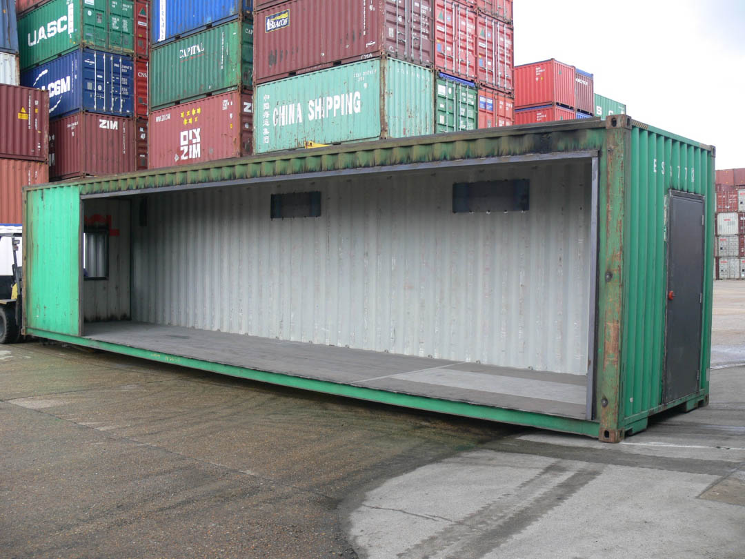Container Conversion into Classroom
