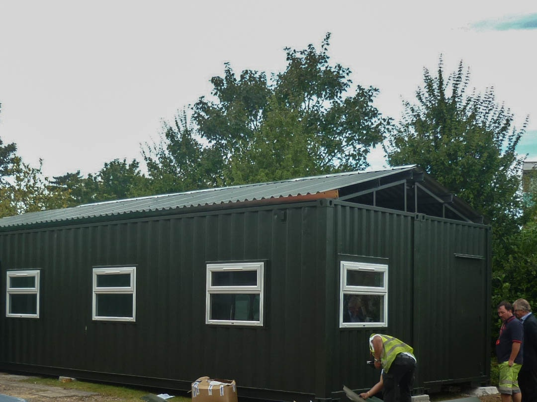Converted Shipping Container School (9)