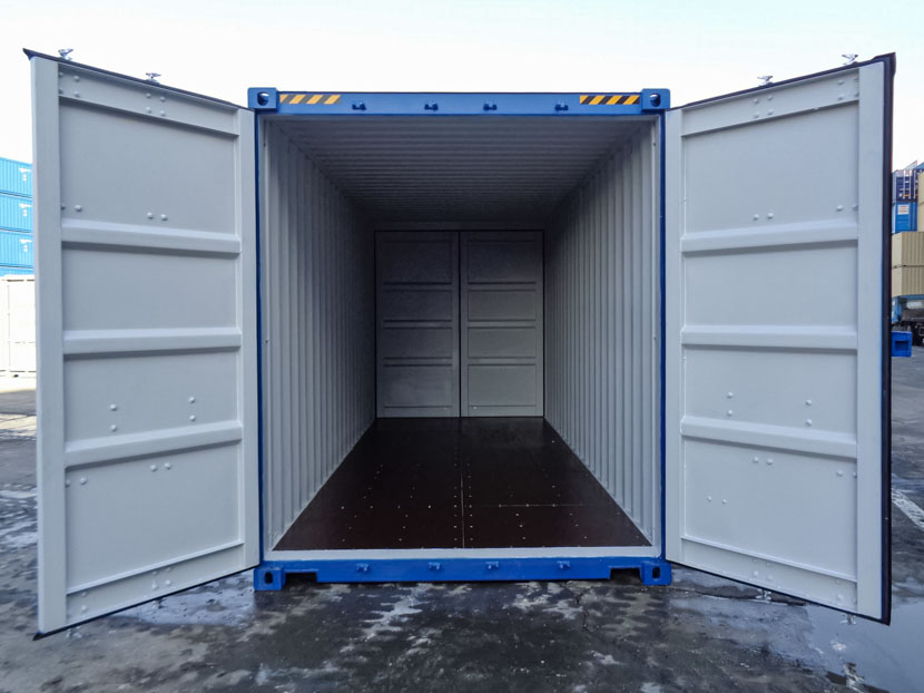 20ft High Cube Double Door Container