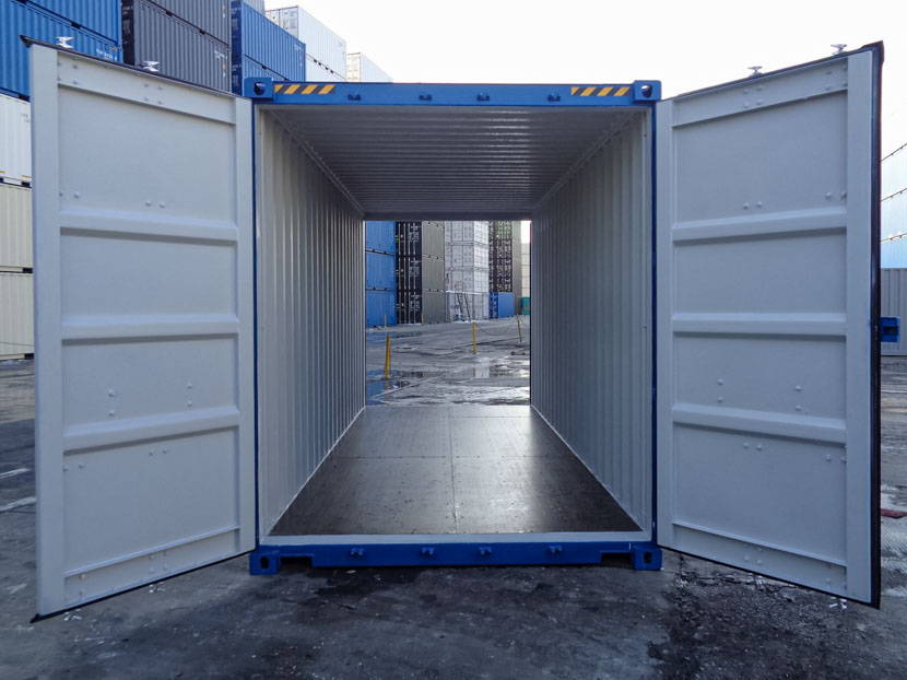 High Cube Tunnel Container