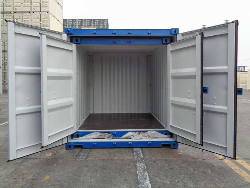 8ft container inside 10ft shipping container