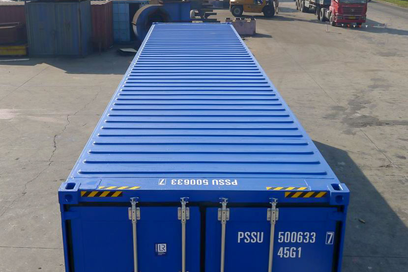 40ft shipping container roof