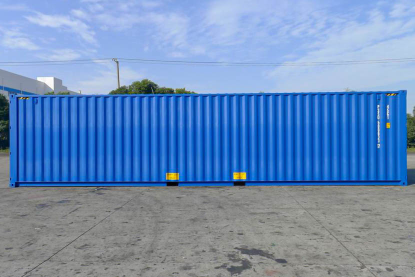 40ft shipping container side