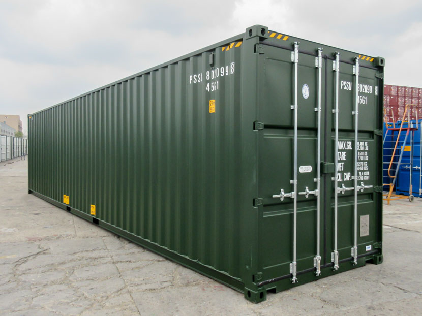 40ft High Cube Container Green