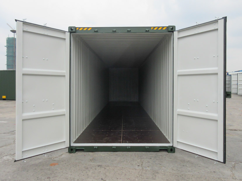 40ft High Cube Shipping Container Open Front Doors