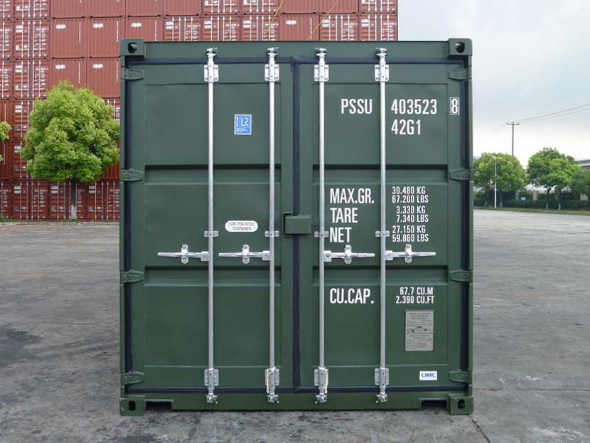 40ft Shipping Container Front
