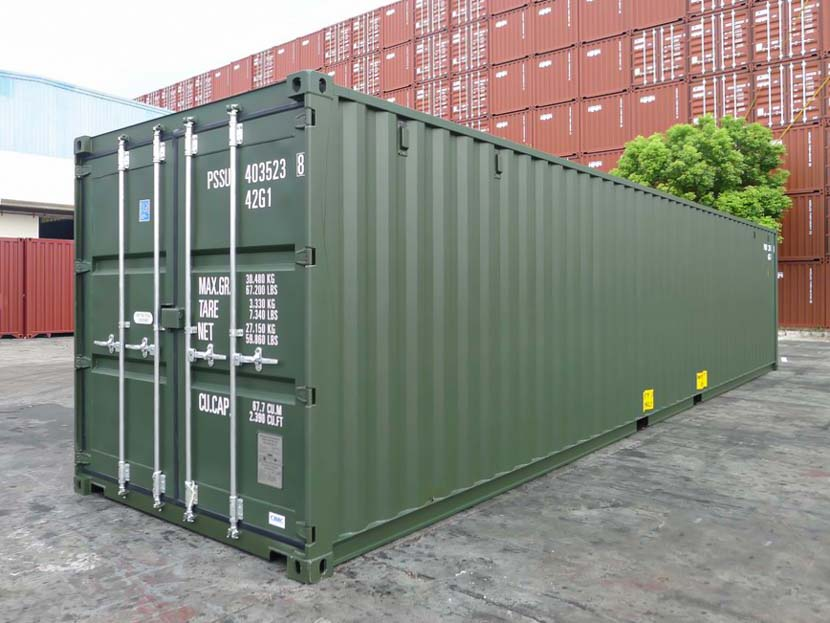 40ft Green Container