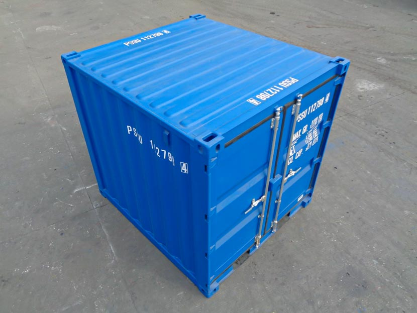 8ft blue container roof