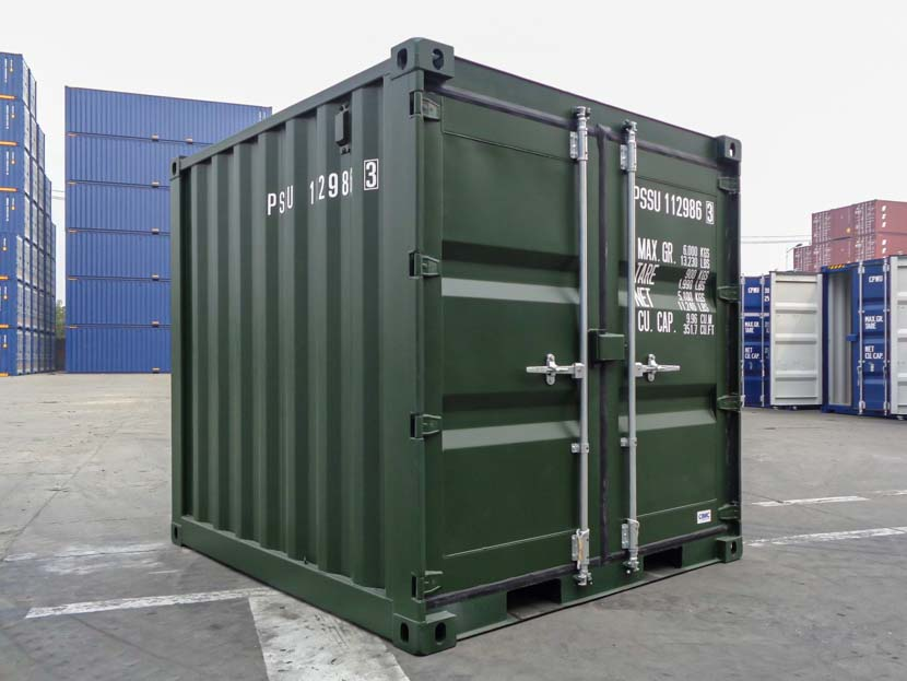 Green Small Shipping Container